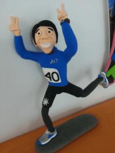 Runner JumpingClay