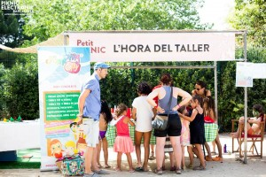 Taller de Jumping Clay Barcelona Poblenou al Petitpiknic i Picnik Electrònic