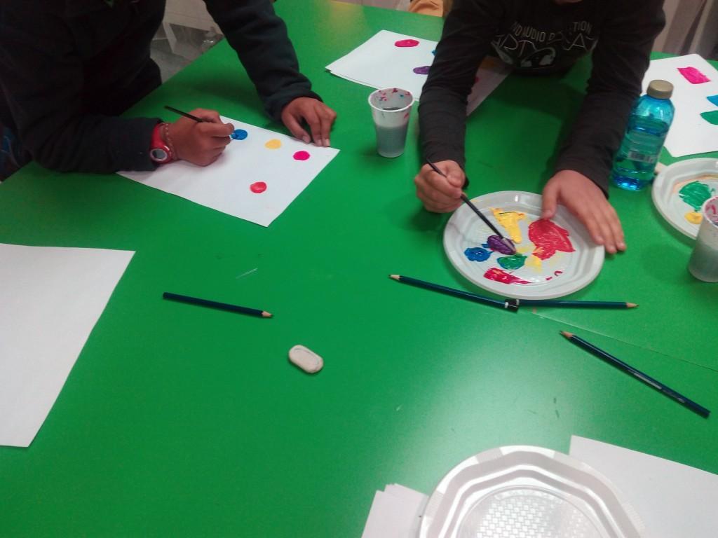 aprenent la paleta de colors