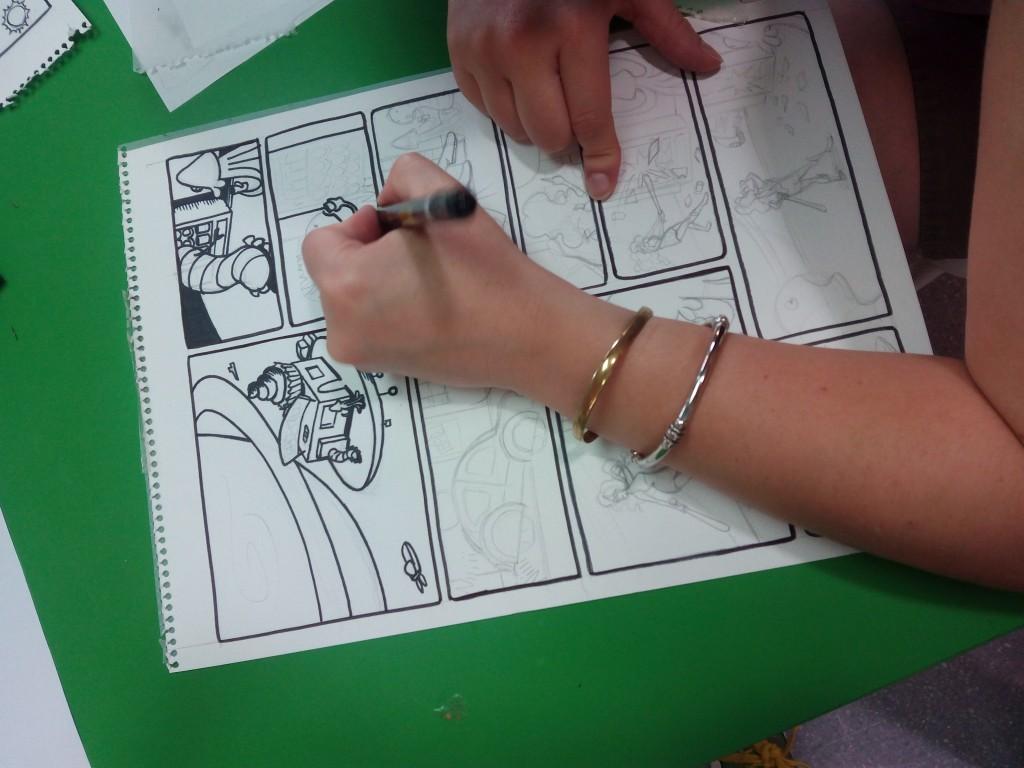 dibuixant una història