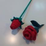 Roses amb pal