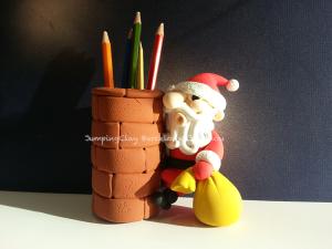 Pare Noel por per posar llapis