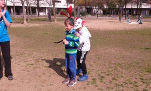 jugant al parc