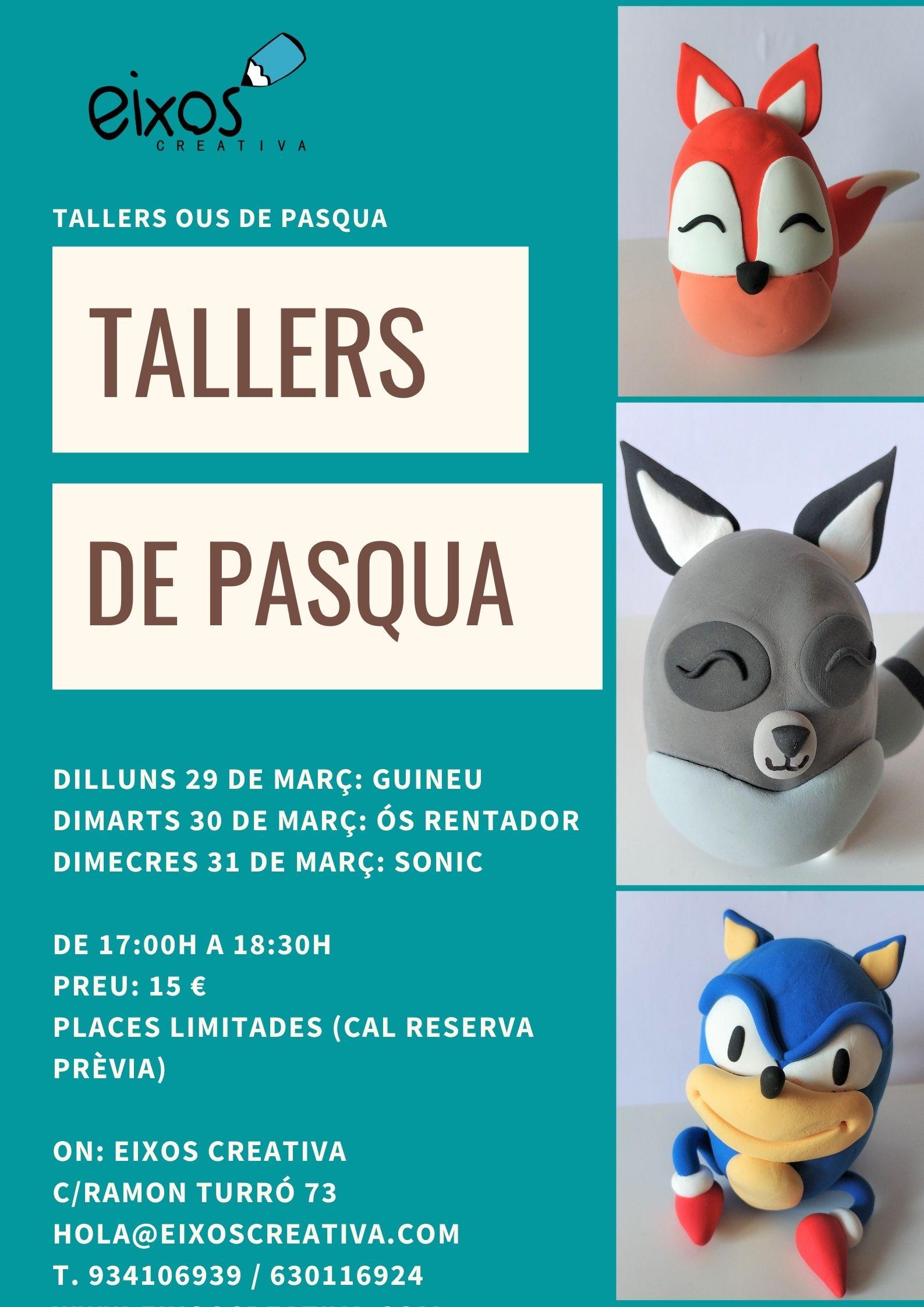 Tallers Pasqua Jumpingclay